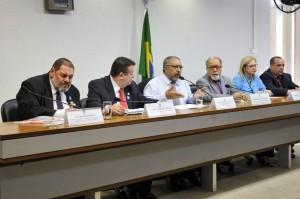 Comissão de Direitos Humanos e Legislação Participativa (CDH), que promoveu o novo debate. - Geraldo Magela/Agência Senado