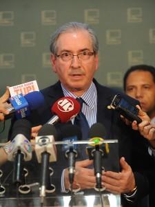 Eduardo Cunha: derrubada de veto seria o equivalente a colocar mais gasolina na fogueira - J.Batista/Câmara dos Deputados