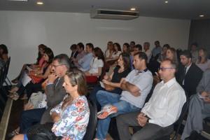 Analistas-Tributários participando do workshop Perspectivas da Cobrança e Arrecadação Tributária na 6ª Região Fiscal realizado pelo CEDS/MG