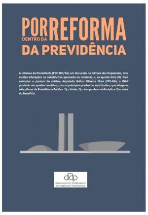DIAP produz quadros comparativos sobre as reformas do governo Temer