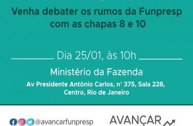 """Eleição FunpresP: Analista-Tributária Luana Helena Bedin (Delegada Sindical da DS Campinas) é candidata pela chapa """"Avançar com Competência""""!!!"""